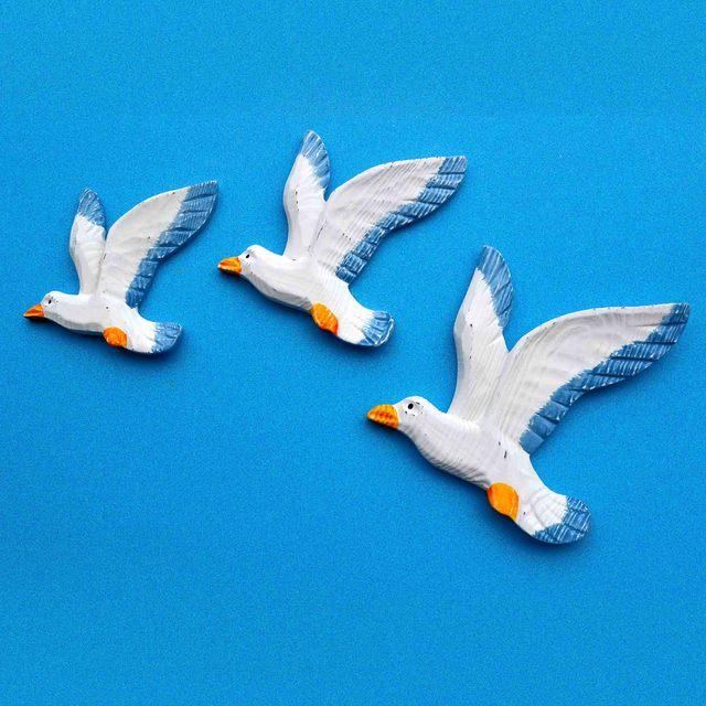 Mediterrane Accessoires vogel model gordijnen meeuw visnet accessoires muonen retro wol