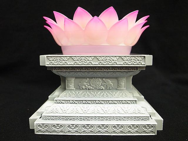 Lc Model Saint Seiya Myth Cloth Gold Shaka Virgo Led Light Lotus