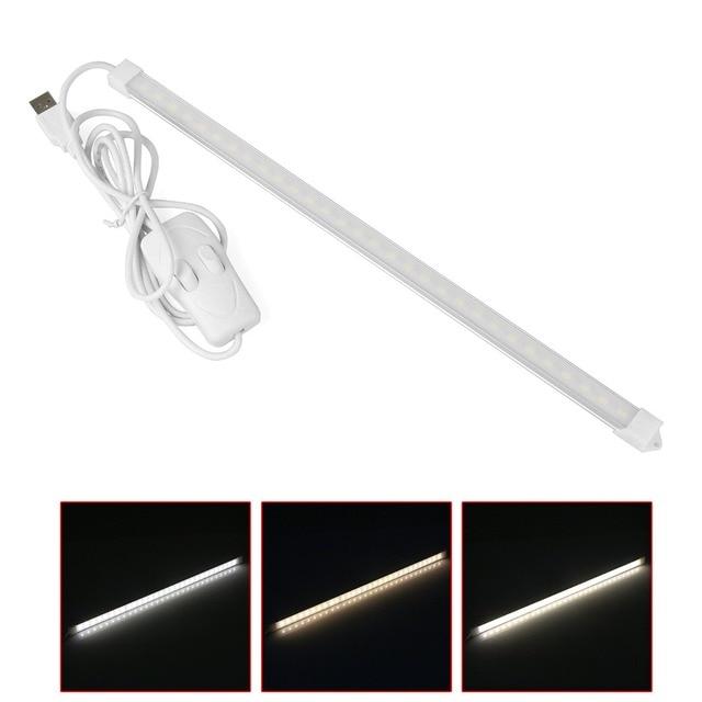 Konesky Drei Farben 5 V USB Led lichtleiste Lampe 30 led 60 led ...