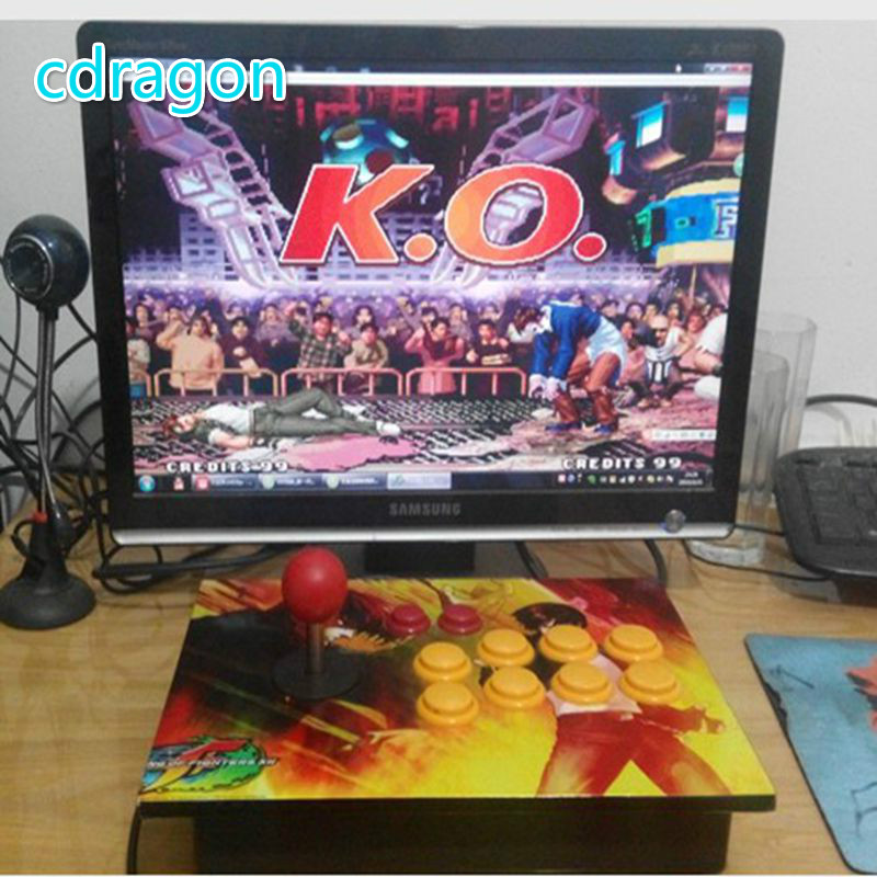 Cdragon Aucun retard arcade joystick rocker USB ordinateur pc arcade jeu poignée machine de jeu accessoires kof 97 livraison gratuite