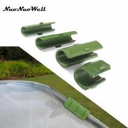 10 sztuk rama szklarni rury rury zacisk filmu ogród siatka cieniująca akcesoria folia plastikowa stałe okucia