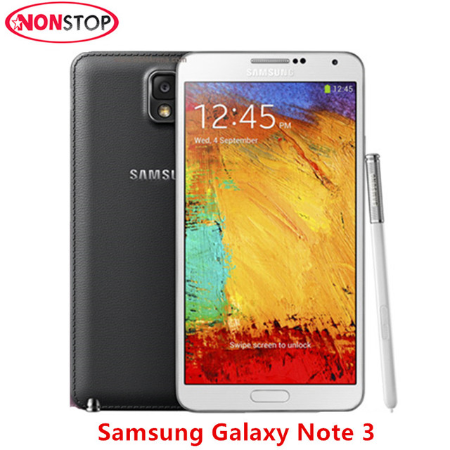 US $176 68 |1 SIM Samsung Galaxy Note 3 N9005 N900 N900A 3/4G LTE  13MP16GB/32G 5 7 inch Quad core 13 0MP Android refurbished Mobile Phone-in  Mobile