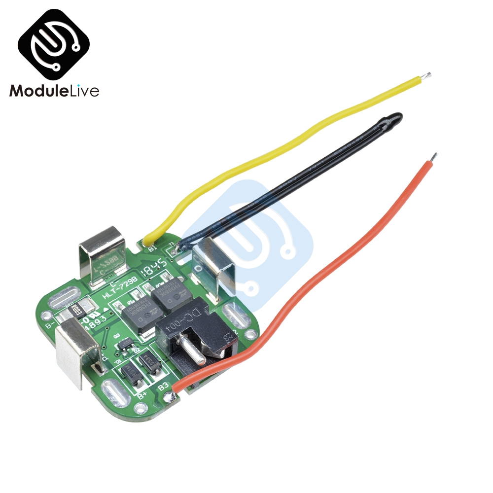 4S 4 SERIAL 4Series string 16.8V Lithium Battery Protection Board 14.8V / 16.8V For Power Tools Drill Straight Electronic Module