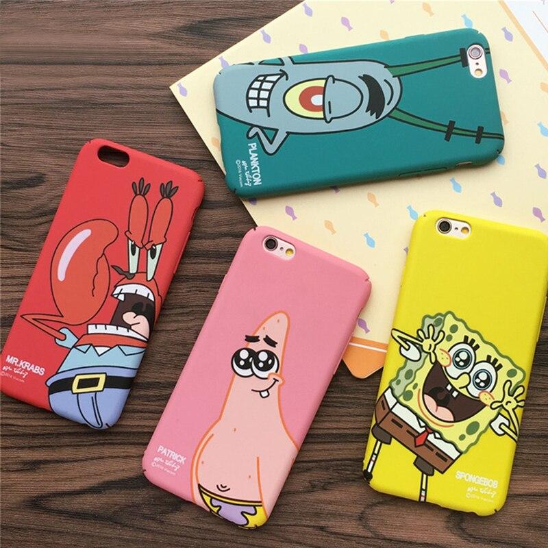 for iphone 7 7plus cases luxury SpongeBob Patrick Phone
