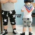 Free shipping 2015 summer Kids Children pants pentagram printing 2 colors pants harem pants 2-6T pant boys and girls