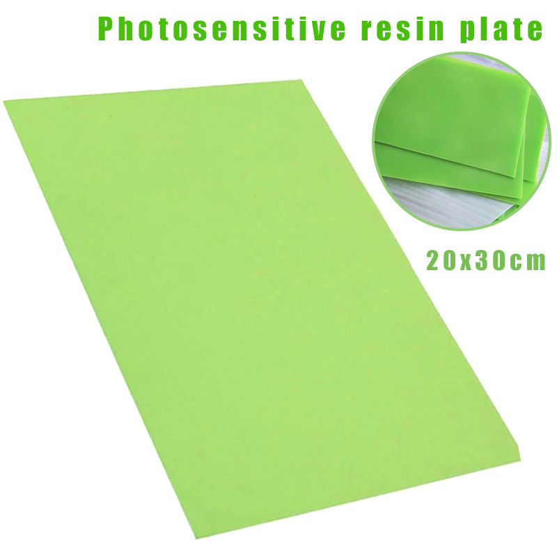 20x30 см печать из смолы Изготовление DIY Фотополимерная тарелка Ремесло Печатный станок полимер WXV продажа