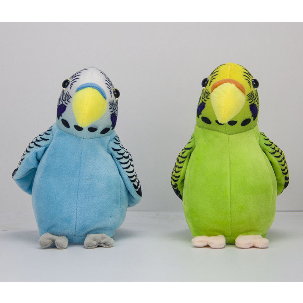 Electronic Toys Electronic Pets Talking Parrot Toys Funny Sound Record Plush Parrot Christmas Gift For Kids Children