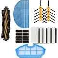 Brosse latérale HEPA filtre éponge vadrouille chiffon rouleau brosse à main pour CONGA EXCELLENCE iboto aqua v710 aspirateur robot nettoyeur pièces