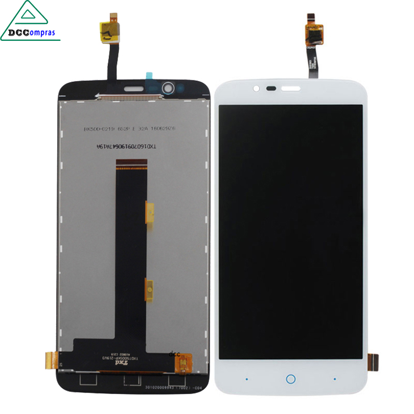 For ZTE Blade A310 LCD Display Touch Screen Digitizer Assembly Replacement Free Tools аксессуар чехол zte blade a310 zibelino classico zcl zte a310 blk