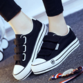 In the spring of 2016 female canvas shoes low for lazy people han edition large base platform for women's shoes, leisure shoes f
