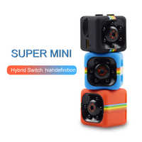 SQ11 Mini caméra 1080p sécurité à domicile infrarouge Vision nocturne moniteur caméra cachée caméra vidéo