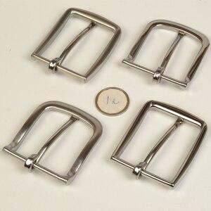 Image 2 - Мужская пряжка для ремня из нержавеющей стали высокого качества, 2 шт./лот slim edge