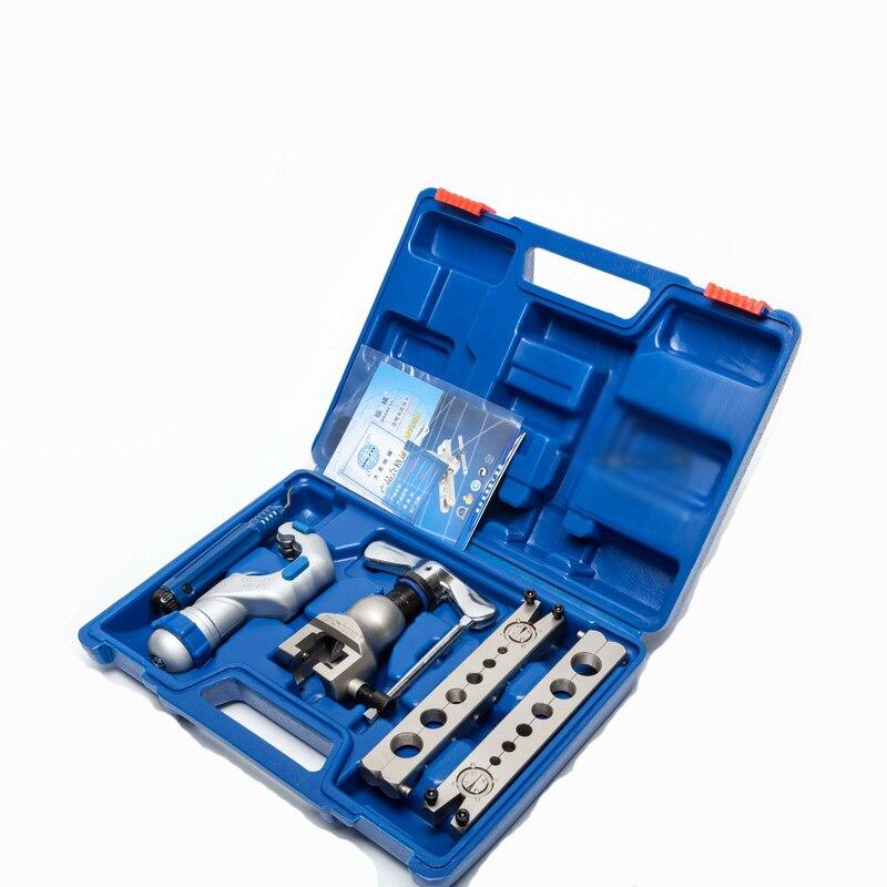 Trousse à outils de coupe de torchage de tube de cuivre, ensemble d'outils de torchage de tuyau WK-806FT