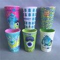 Cup copos padrão de beber garrafas de água crianças dos desenhos animados do bebê infantil menino menina coragem da melamina copos de treinamento garrafa de água potável