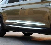 4pc for SKODA KODIAQ Body trim Door bar Anticollision strip Stainless steel decorate Trim dimarzio push pull potentiometer 250k ep1200pp