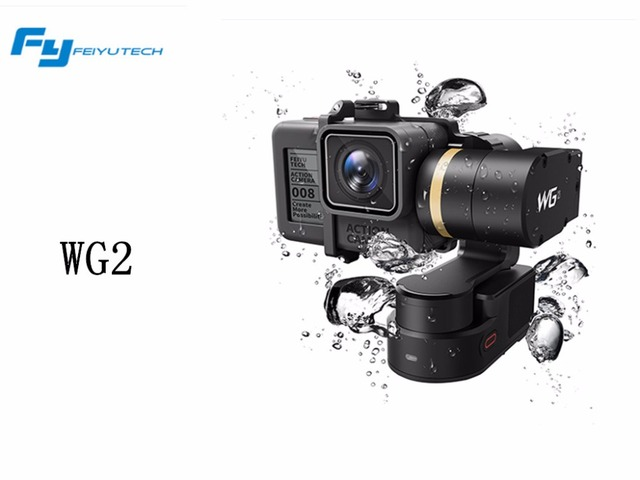 Feiyu Tech WG2 FY Wearable Gimbal Waterproof Stabilizer for Gopro Hero 5 Session / 4 Session and similar size Sports Camera