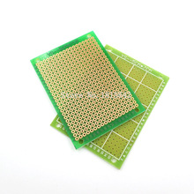 5PCS/LOT 5*7CM Single Side PCB Board Glass Fiber Green PCB Circuit Board 5x7cm