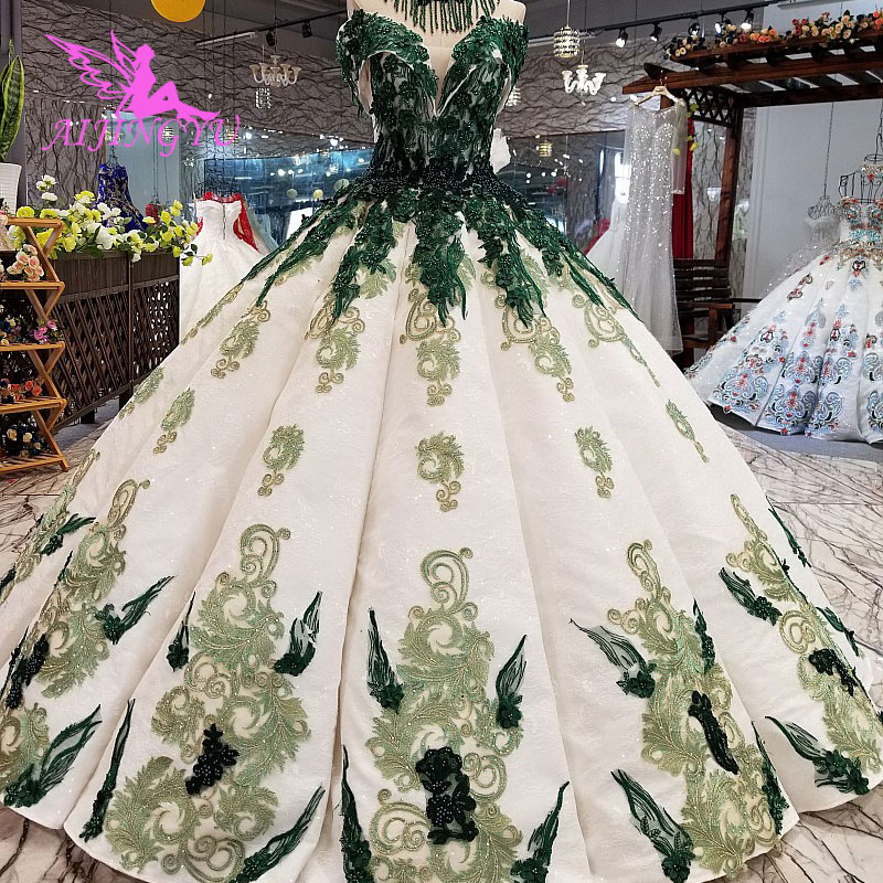 Where To Buy Wedding Gown: AIJINGYU Buy Wedding Gown Long Modest Gowns In Dubai Queen