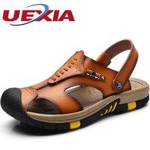 Metal decoration Leather Zapatos Sandals Men Shoe Beach Sandalias Casual Designer Outdoor Classics Luxury Gladiator High Quality