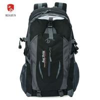 Patchwork Buckle Ladder Lock Zipper S Shape Mesh Strap Outdoor Portable Backpack For Unisex