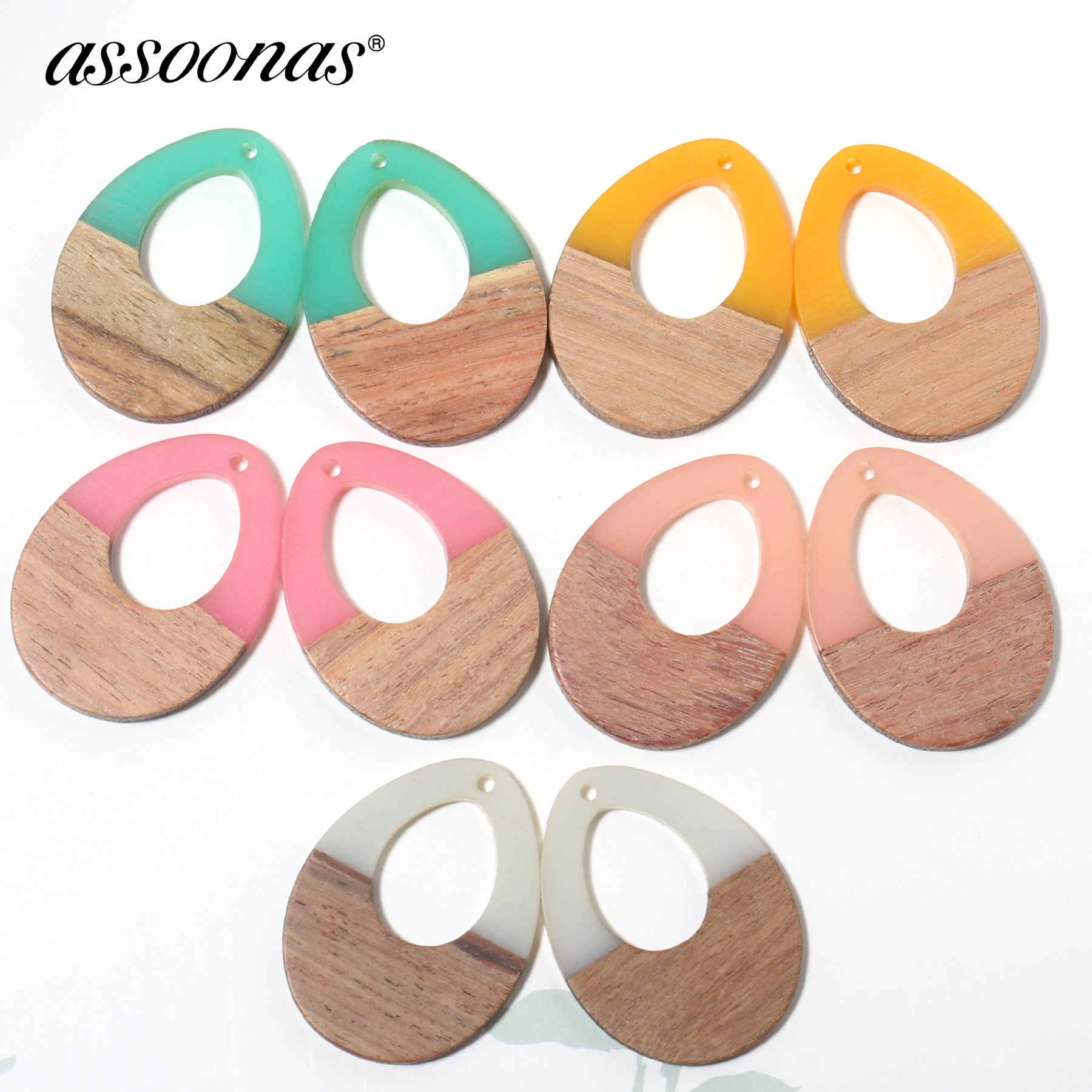 Assoonas M343,jewelry Accessories,jewelry Findings,wood Acrylic Earrings Pendant,hand Made,diy Earrings,jewelry Making,10pcs/lot