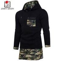 New Fashion Hoodies Brand Men Camouflage Stitching Sweatshirt Male Men S Sportswear Hoody Hip Hop Shrink