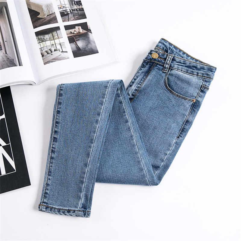 Jujuland Jeans Mujer Pantalones De Mezclilla Color Negro Mujer Jeans Donna Estiramiento Pantalones Ajustados Para Mujer Pantalones 8175 Pantalones Vaqueros Aliexpress