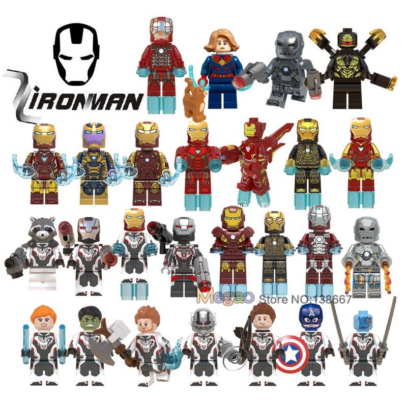 Blocks Iron Man Legoings Avengers 4 Endgame Captain Marvel Thor Hulk Rocket Raccoon Antman Legoing Ironman Building Blocks Toys Gift Relieving Rheumatism And Cold Toys & Hobbies