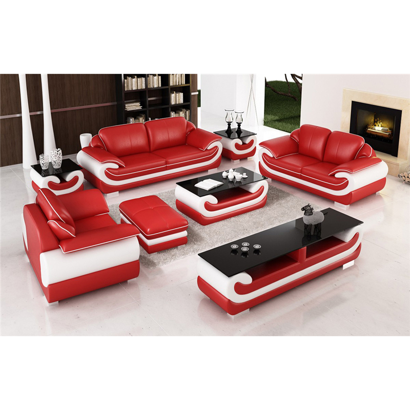 Us 2023 0 Modern Furniture Living Room 3 2 1 Leather Sectional Sofa With Ottoman Coffee Table Tv Cabinet Side In Sets From
