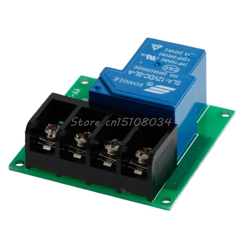 1 Channel Power Relay Control Board Module 30A Single Switch 12 V New #S018Y# High Quality 5v 1 channel single relay module