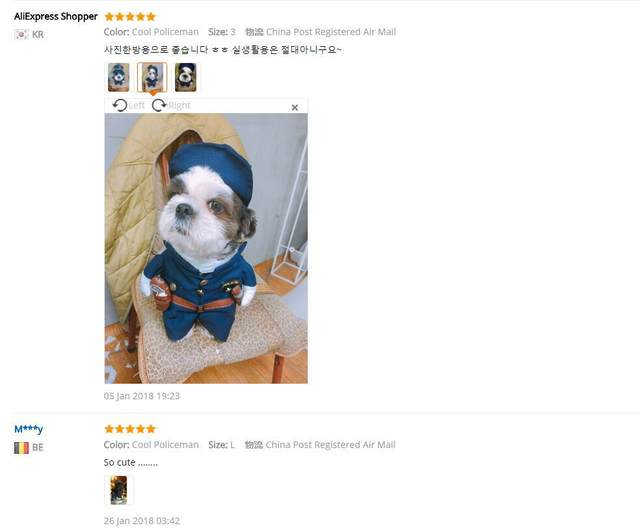 Online Shop Funny Dog Clothes Cool Pet Dog Costume Suit Puppy