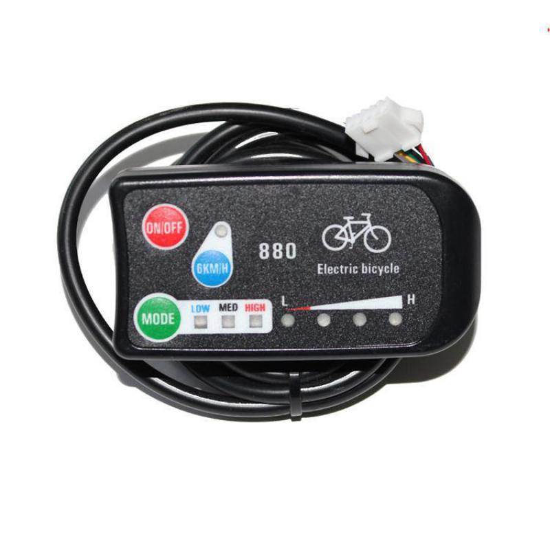 Ebike 3-speed Pas Led Control Panel/display Meter-880 For Electric - Cycling - Photo 1