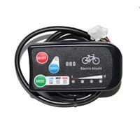 Precio Ebike Panel de Control Led de 3 velocidades Pas/medidor de pantalla-880 para bicicleta eléctrica Diy piezas de repuesto 36 v/48 v último diseño