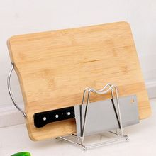 Kitchen storage artifacts stainless steel kitchen pot cover chopping board shelves