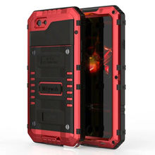 Luphie Heavy Duty Shockproof Waterproof Full Sealed Aluminum Metal Doom Armor Cover Case For iPhone 7 8 Plus X XS Max XR 6 6S