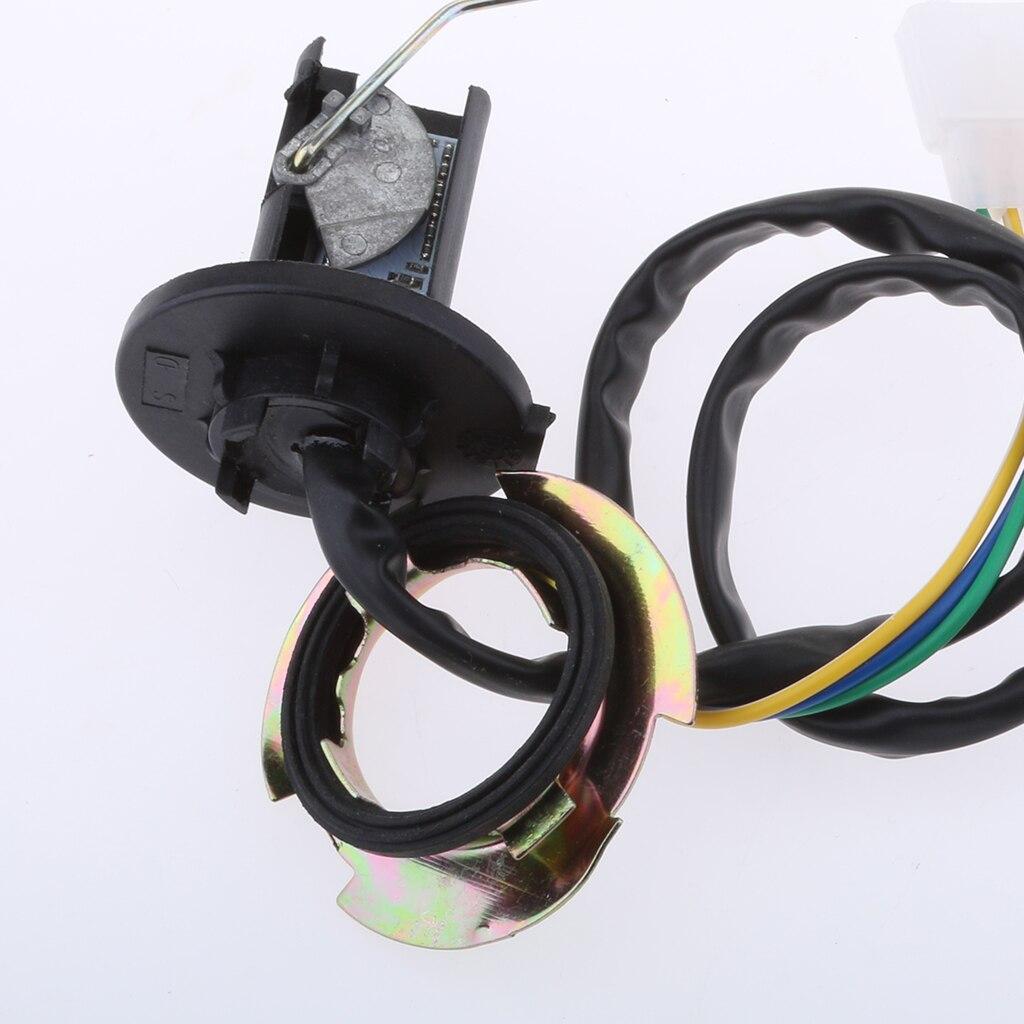 """1 комплект мотоциклетный Указатель уровня топлива и датчик """" 52 мм светодиодный дисплей IP67 9-32 В для RV ATV автомобиля и т. д. аксессуары для мотоциклов"""