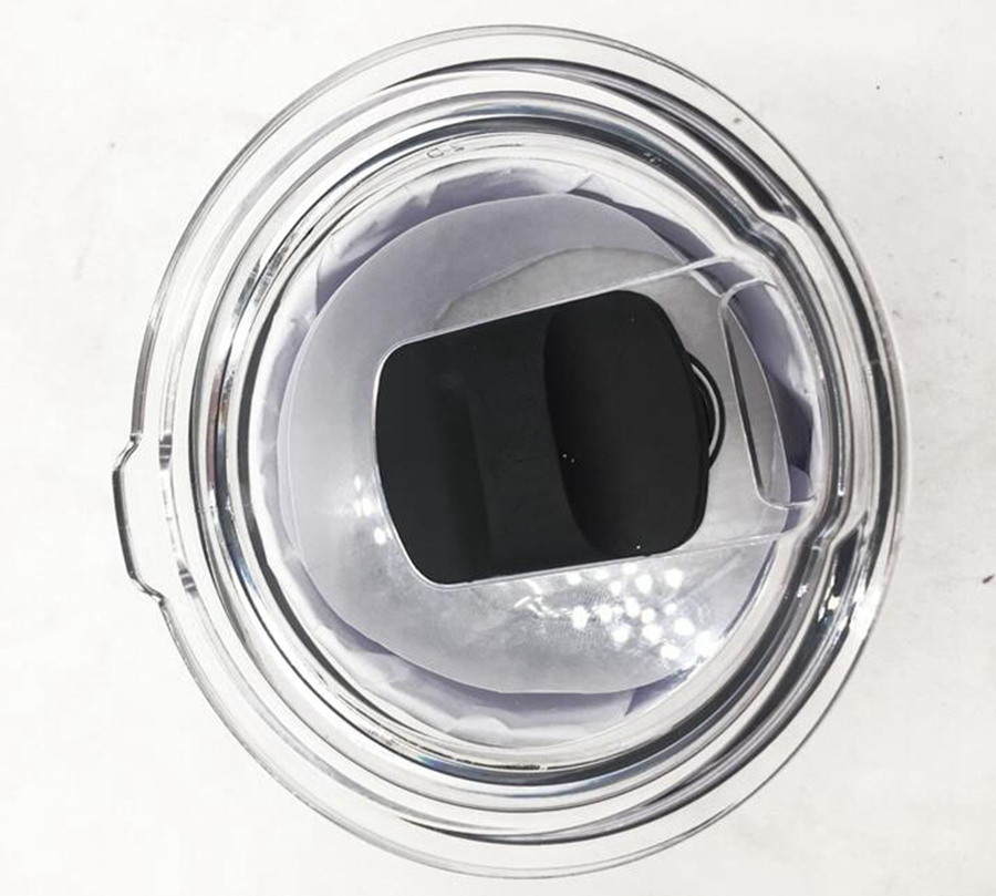 10pcs SIBAOLU Crystal Clear LID for 30oz 20oz Tumbler Cup Replacement lid cup cap Tapa