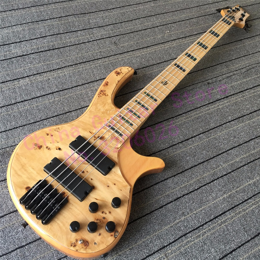 custom shop 5 strings bass guitar abalone inlay on maple fretboard 4 6 strings are available at. Black Bedroom Furniture Sets. Home Design Ideas