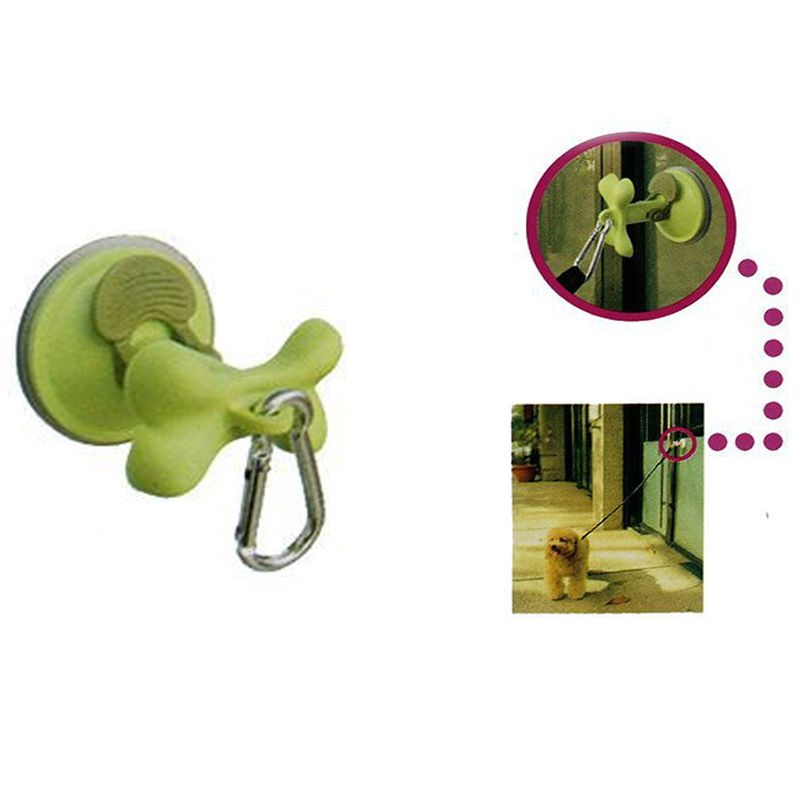 Pet Dog Supplies Suction Tool Outdoor Dog Parking Wash Tub Restraint Suction Cup Hook