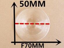 Free shipping 1 pair Diameter 50mm Focal length 70mm fresnel lens for google cardboard VR Box 3D glasses storm mirror VR glasses