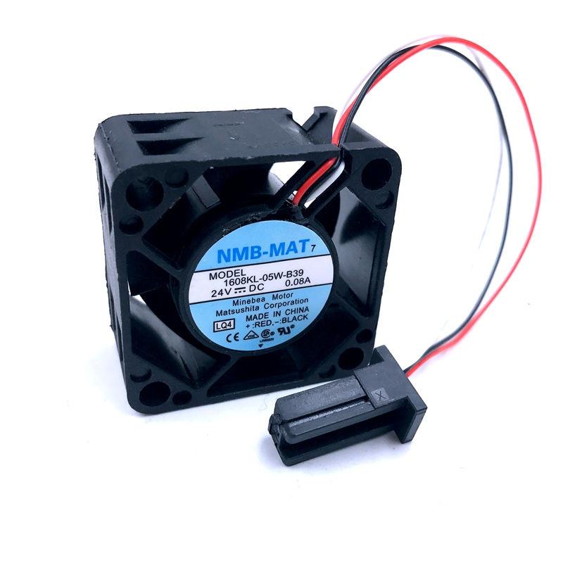 1608KL-05W-B39  40*40*20mm 4020 24V 0.08A For Fanuc Fan Heatsink For For NMB