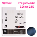 10pcs Tempered Glass Screen Protector For iPhone 6 6S 4.7 inch Anti Shatter Screen Protective Film