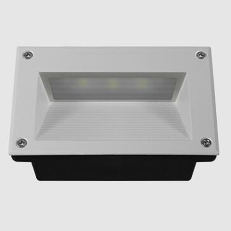 LED Stair Light Wall corner lamp 9W AC85 260V Warm White red green blue yellow for villa hotel lobby Stairway Night Lights in LED Underground Lamps from Lights Lighting