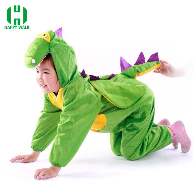 Kids Dinosaur Costume Crocodile Costume Jumpsuit Animals Costumes Kids Cosplay Boys Dinosaur Suit Costume Dinosaur