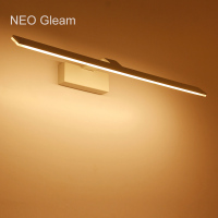 NEO Gleam Modern led wall lights dressing table Mirror wall Sconce Bathroom White AC85 265V mirror wall lamp luminaire Fixtures