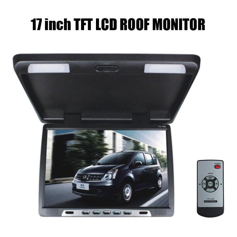 17 дюймов TFT ЖК дисплей монитор крыши