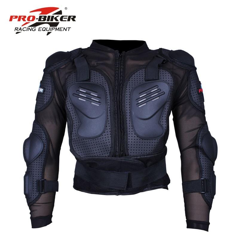 Prix pour 2016New modèle PRO-BIKER moto armure Motocycliste Corps Protecteur de protection ensemble moteur racing protection retour protection GILET