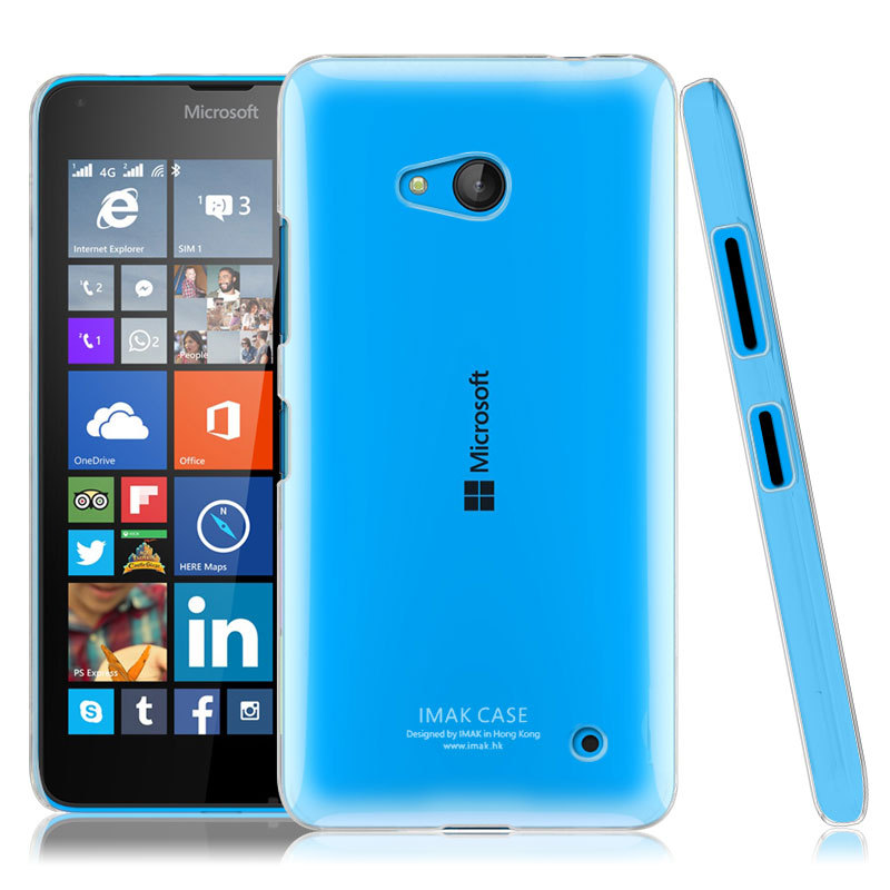 newest faa4e 59722 US $3.5 |Original Imak Crystal Plastic Case for Microsoft Lumia 640 LTE  Clear Glossy Cover with Screen Protector Tracking Number on Aliexpress.com  | ...