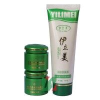 Оптовая и розничная yilimei 7-дневный отбеливателя и удаление speckle A + B крем очищающее средство для лица 3 шт./компл.