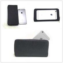 8edddba3d53 MIKE KLARKE MK.81 echt Lederen telefoon portemonnee Voor iphone 6 6s 7 8  Plus